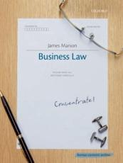 ISBN: 9780199579464 - Business Law Concentrate