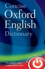 ISBN: 9780199601080 - Concise Oxford English Dictionary