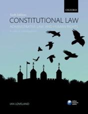 ISBN: 9780199606405 - Constitutional Law, Administrative Law, and Human Rights