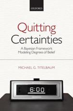 ISBN: 9780199658305 - Quitting Certainties