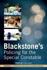 ISBN: 9780199671694 - Blackstone's Policing for the Special Constable