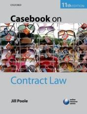 ISBN: 9780199699483 - Casebook on Contract Law