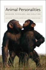 ISBN: 9780226921976 - Animal Personalities