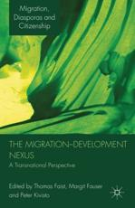 ISBN: 9780230228573 - The Migration-development Nexus