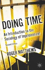 ISBN: 9780230235526 - Doing Time