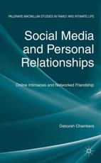 ISBN: 9780230364172 - Social Media and Personal Relationships