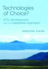 ISBN: 9780262018203 - Technologies of Choice?