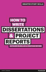 ISBN: 9780273743835 - How to Write Dissertations & Project Reports