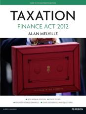 ISBN: 9780273773016 - Taxation