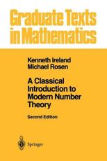 ISBN: 9780387973296 - A Classical Introduction to Modern Number Theory (v. 84)
