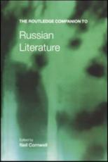 ISBN: 9780415233668 - Routledge Companion to Russian Literature