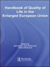 ISBN: 9780415424677 - Handbook of Quality of Life in the Enlarged European Union