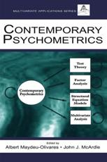 ISBN: 9780415646956 - Contemporary Psychometrics