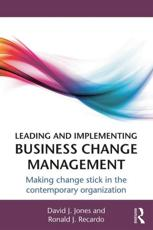 ISBN: 9780415660617 - Leading and Implementing Business Change Management