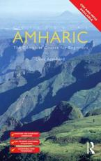 ISBN: 9780415671798 - Colloquial Amharic