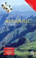 ISBN: 9780415671804 - Colloquial Amharic