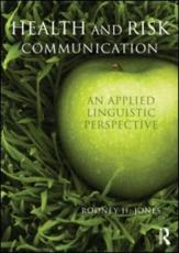ISBN: 9780415672603 - Health and Risk Communication