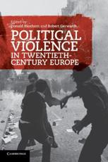 ISBN: 9780521182041 - Political Violence in Twentieth-century Europe