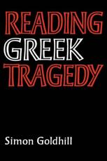 ISBN: 9780521315791 - Reading Greek Tragedy