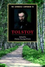 ISBN: 9780521520003 - Cambridge Companion to Tolstoy