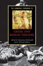 ISBN: 9780521542340 - The Cambridge Companion to Greek and Roman Theatre