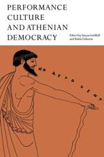 ISBN: 9780521604314 - Performance Culture and Athenian Democracy