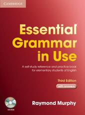 ISBN: 9780521675437 - Essential Grammar in Use with Answers and CD-ROM Pack