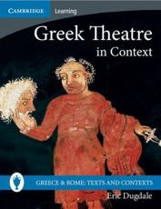 ISBN: 9780521689427 - Greek Theatre in Context