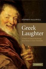 ISBN: 9780521717748 - Greek Laughter