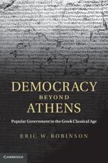ISBN: 9780521843317 - Democracy Beyond Athens
