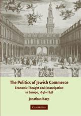 ISBN: 9780521873932 - Politics of Jewish Commerce