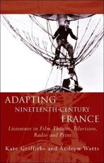 ISBN: 9780708325940 - Adapting Nineteenth Century France