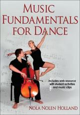 ISBN: 9780736096522 - Music Fundamentals for Dance