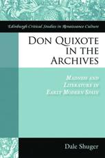 ISBN: 9780748644636 - Don Quixote in the Archives