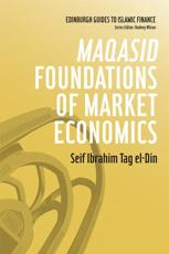 ISBN: 9780748670031 - Maqasid Foundations of Market Economics