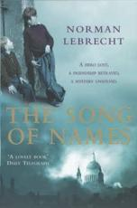 ISBN: 9780755300952 - The Song of Names