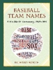 ISBN: 9780786468447 - Baseball Team Names