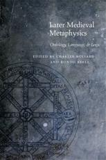 ISBN: 9780823244737 - Later Medieval Metaphysics