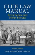 ISBN: 9780854900626 - Club Law Manual