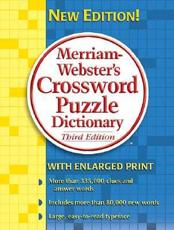 ISBN: 9780877796398 - Merriam Webster's Crossword Puzzle Dictionary
