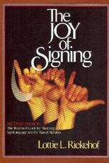 ISBN: 9780882435206 - Joy of Signing