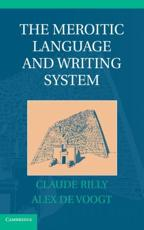 ISBN: 9781107008663 - The Meroitic Language and Writing System