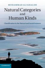 ISBN: 9781107012745 - Natural Categories and Human Kinds
