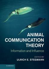 ISBN: 9781107013100 - Animal Communication Theory