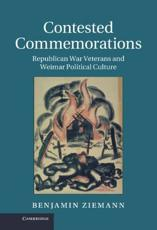 ISBN: 9781107028890 - Contested Commemorations