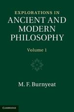 ISBN: 9781107400061 - Explorations in Ancient and Modern Philosophy 2 Volume Hardback Set
