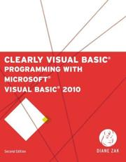 ISBN: 9781111530150 - Clearly Visual Basic