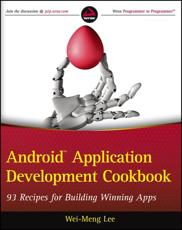 ISBN: 9781118177679 - Android Application Development Cookbook