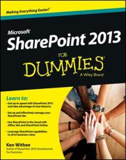 ISBN: 9781118510711 - SharePoint 2013 For Dummies