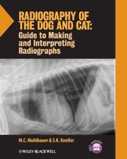 ISBN: 9781118547472 - Radiography of the Dog and Cat